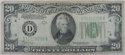 1934 20 Dollar Bill Series