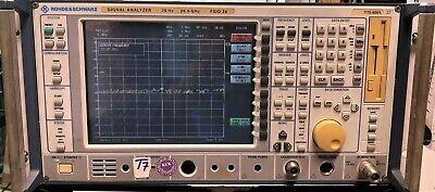 Rohde Schwarz Signal Analyzer Fsiq 20hz-26.5 Ghz Fsiq 26