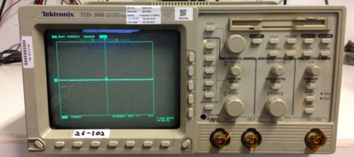 Tektronix TDS360 2 CHANNEL , DIGITIZING , 200 MHz , 1GS/s