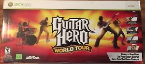 Guitar Hero World Tour Bundle Xbox 360 NEW UNOPENED