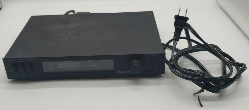 Bogen Tp-100A, Digital Tuner Tested, Works Well