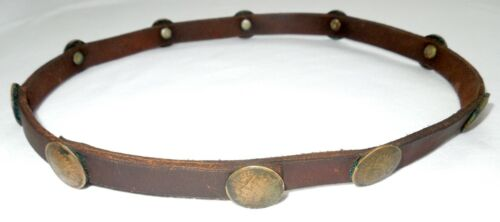 INDIAN HEAD PENNY *HAT BAND*10 Pennies* Western*Southwestern *FREE SHIPPING*