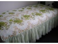 Beautiful Throw / Bed Cover Floral for Double Bed