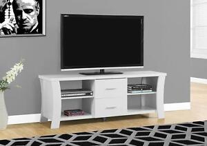 $260 - CONSOLE TV BLANC