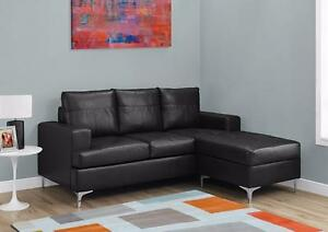 $499 - SECTIONNEL - BONDED LEATHER
