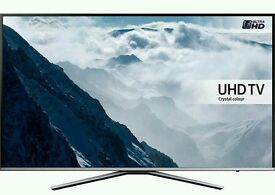 "Samsung 43"" KU6000 6 Series Flat 4K Smart TV"