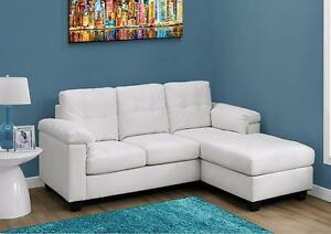 SOFA LOUNGER - SECTIONAL ON SALE GREY OR WHITE
