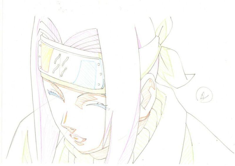 Anime Genga not Cel Naruto #362