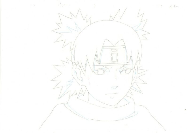 Anime Douga not Cel Naruto #358
