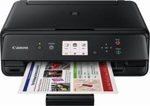 Canon - PIXMA TS5020 Wireless All-In-One Printer - Black - NO INK with it