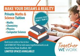Private Maths and Science Tuition