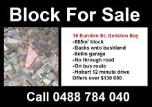 Geilston Bay 665m2 block Geilston Bay Clarence Area Preview
