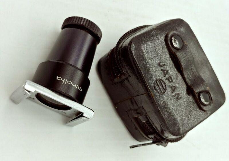 Vintage ORIGINAL Minolta Eye Cup Adapter focusing magnifier