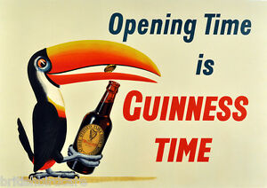 GUINNESS-POSTER-1-Very-Rare-Quality-re-Print-from-Original-Choose-your-size