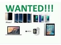 WANTED   IPHONE 8 8 PLUS 64GB 256GB IPHONE 7 / PLUS 32GB 128GB 6S 16GB SAMSUNG S8 NOTE 8 MACBOOK PRO