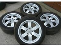"""17"""" VW audi transporter T4 Van Caravelle alloys wheels Caddy Van A4 a5 A6 Sharan seat alhambra"""