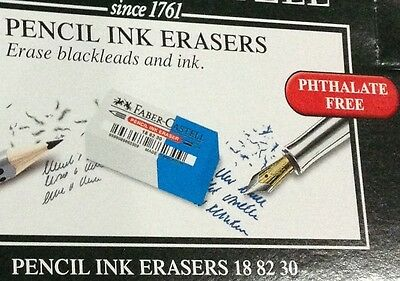 Faber-castell Pencil Ink Eraser 12pcs