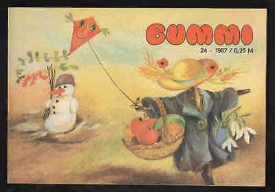 Bummi Nr. 24 1987 – DDR Kinderzeitschrift