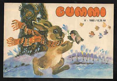Bummi Nr. 6 1985 – DDR Kinderzeitschrift