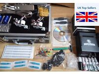 NEW DRAGON HAWK UK TATTOO KIT CASED SET UP AND READY TO GO , last one so dont miss out