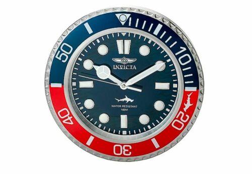 "Invicta PRO DIVER HAMMERHEAD Master of the Ocean Quartz Exquisite 14"" Wall Clock"