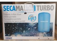 New Secamatic Turbo Portable Cloths Dryer