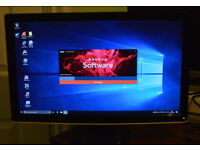 """Mid Level gaming pc package with 23"""" monitor"""