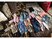 Loads of baby clothes/things