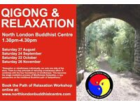 Mindfulness, Relaxation & Qigong Afternoon Workshop @ North London Buddhist Centre