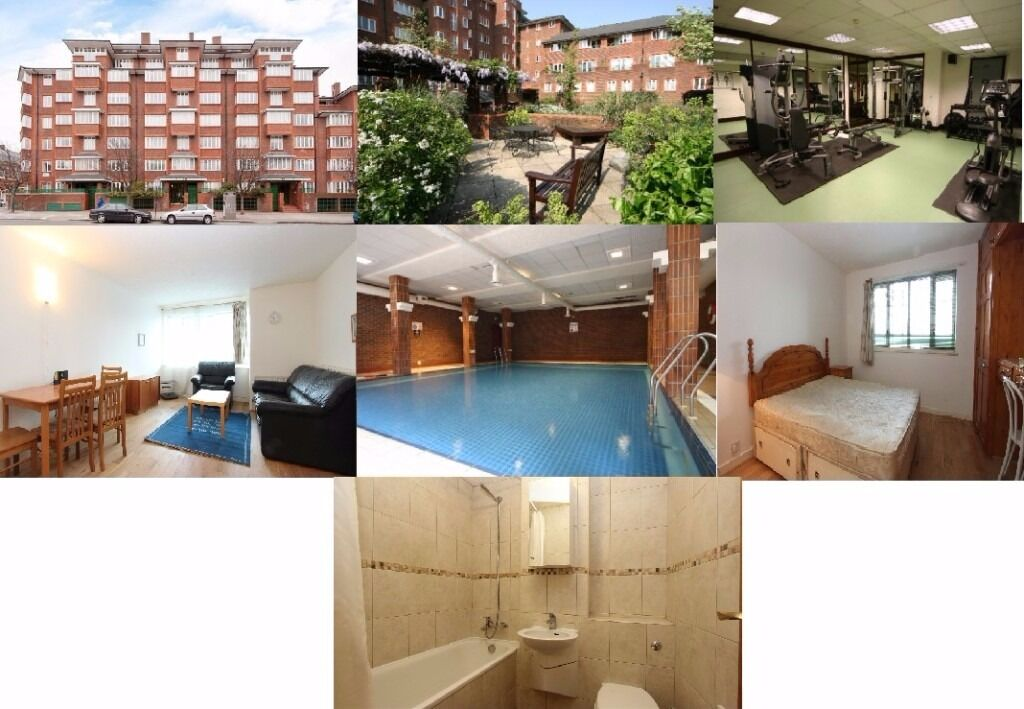 1 Bed Apartment NW1 -Swimming pool and Gym