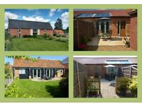 Bengate Barn Cottages, Norfolk- 3 Spacious and Comfortable Cottages Sleeping from 2-4 Guests