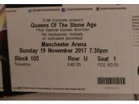 Queens of the Stone Age Tickets x2