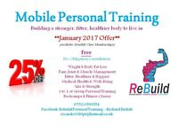 MOBILE PERSONAL TRAINING - Professional, Friendly, Experienced, Unique and Realistic