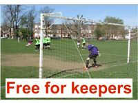 GOALKEEPER NEEDED, FREE LEAGUE AND CUP GAMES, FIND FOOTBALL LONDON a92g