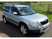 IMMACULATE 2010 Skoda Yeti 2.0 tdi se 4x4 Full service history including timing belt change mot 2017