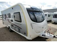 SWIFT CONQUEROR 565 2012 WITH FIXED SINGLE BEDS