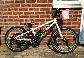 Child's bike - lightweight Frog bike. Used less than a year, fantastic condition. Size 52, age 5-7