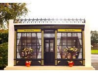 COMPLETE with contents collectors dolls house sweetshop shop unusual one of a kind with furniture
