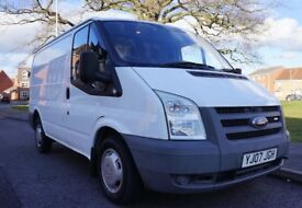 2007 Ford Transit 2.2 Panel van / 85 T280s Fwd / 86BHP / Very Low Mileage / Clean / 1 Former Keeper