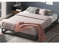 King size bed frame as new