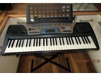 YAMAHA PSR-170 KEYBOARD AND STAND