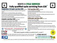 Road, MTB, Hybrid, BMX, commuter and child bikes