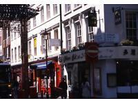 Studio flat in Gerrard Street, Soho, W1D