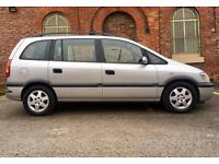 2002 Vauxhall Zafira 2.0 Dti Diesel. 7 Seater Drives Superb. Mpv Opel.