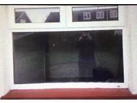 Double glazed window PVC
