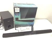 Philips HTL2163B Sound bar with Subwoofer, Bluetooth,Remote,Boxed, Like a new