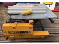 Dewalt DW743 flip saw / table saw 110V