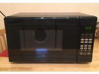 Tesco MMB14 Digital 17L Solo Microwave Black