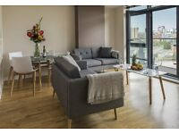 NO FEES* - Available Now - Furnished, Large 2 Bedroom apartment with balcony in Leeds City Centre