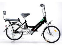 Electric Bike Throttle Twist And Go 48V Battery 2 Seater Electric City Bikes - BLACK - NEW